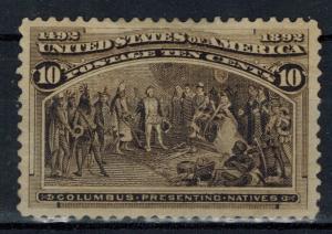 USA - Scott 237 XF MNG