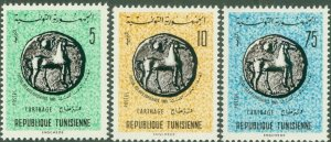 TUNISIA 448-50 MNH BIN$ 1.25