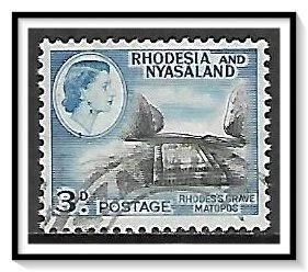Rhodesia & Nyasaland #162 Rhodes' Grave Used