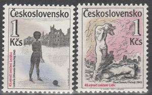 Czechoslovakia #2661-1 MNH F-VF  (V4214)