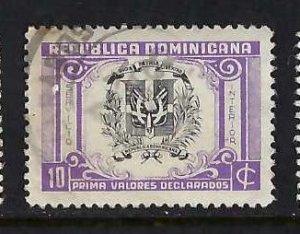 DOMINICAN REPUBLIC G26 VFU Z5774-6