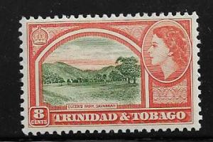 TRINIDAD & TOBAGO  78  MINT HINGED QUEENS PARK  ISSUE, QE2