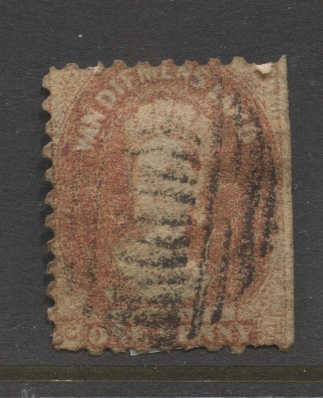 STAMP STATION PERTH Tasmania #23? QV Definitive Perf.10 Used
