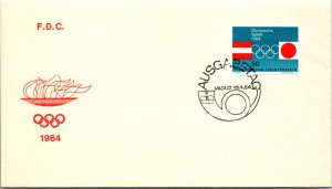 Liechtenstein, Worldwide First Day Cover, Olympics