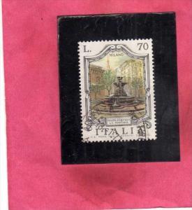 ITALIA REPUBBLICA ITALY REPUBLIC 1975 LE FONTANE D´ITALIA FOUNTAINS FONTANA ...