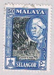 Malaya Selangor 109 Used Sultan Hisam Shah (BP22721)