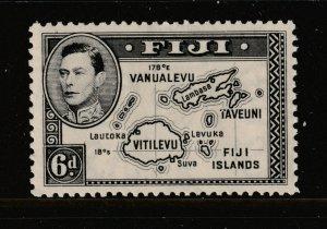 Fiji a mint 6d KGVI Die 1