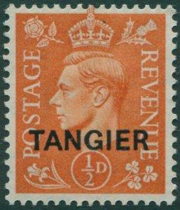 Morocco Agencies Tangier 1950 SG280 ½d pale orange KGVI MLH