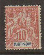 Martinique #39 Mint