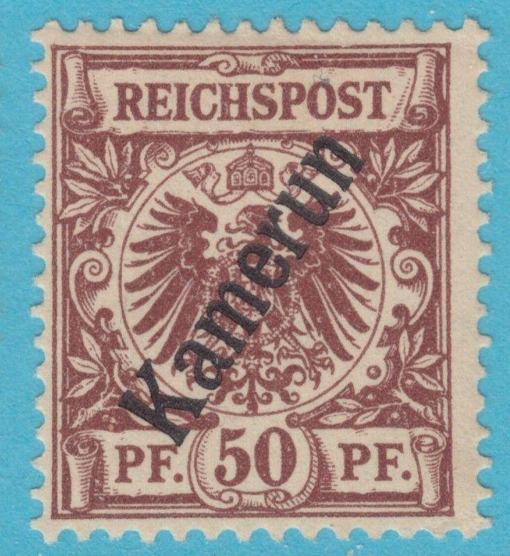 GERMAN COLONIES CAMEROUN 6  MINT HEAVY HINGED * OG NO FAULTS VERY FINE !