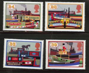 Great Britain Scott 1506-1509 MNH** 1993 set