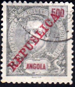 Angola Scott 29c Used.