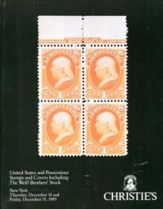 Auction - WEILL BROS US & Poss Stamps & Covers 12.14-15.89