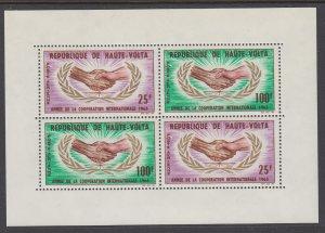 Burkina Faso C24a Souvenir Sheet MNH VF