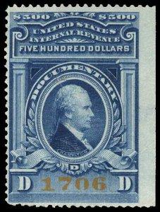 U.S. REV. DOCUMENTARY R249a  Mint (ID # 89632)