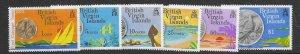 British Virgin Islands 254-59  1973  set 6   VF NH