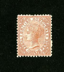 British Honduras Stamps # 55 VF OG LH Scott Value $180.00