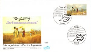 Germany, Worldwide First Day Cover, Art