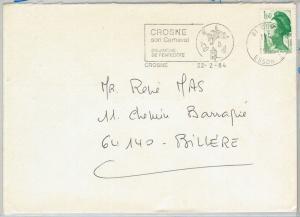 64616 - FRANCE - POSTAL HISTORY - POSTMARK on COVER 1984 - CARNIVAL
