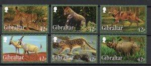 Gibraltar 1353-1358 MNH