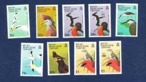 BRITISH INDIAN OCEAN TERRITORY - # 94 // 146 -  FVF MNH see note - Birds - 1990