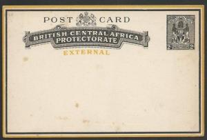 NYASALAND 2d External postcard, unused.....................................50235