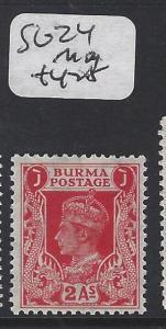 BURMA (P0304B)    KGVI  2A  SG 24    MOG