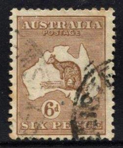 STAMP STATION PERTH  Australia #96 Kangaroo Wmk.203 Used -CV$12.00