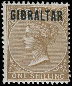 Gibraltar Scott 1-7 Gibbons 1-7 Mint Set of Stamps