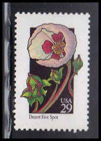 2690 29c Desert Five Spot Fine MNH W3755
