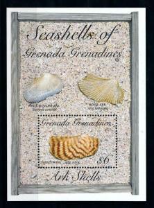 [99666] Grenada Grenadines 1993 Marine Life Sea shells Souvenir Sheet MNH