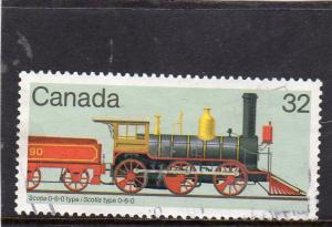 Canada Locomotives used