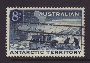 1959 Aus Antarctic Terr 8d On 7d F/U