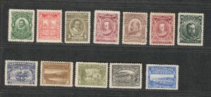 Newfoundland Sc#87-97 M/H/VF, Complete Set, 92+92a Have Sm. Thins, Cv. $610