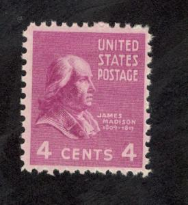 808 James Madison US Single Mint/nh (Free shipping offer)