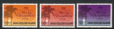 Cocos Is - 1988 Christmas (MNH)