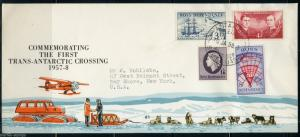 NEW ZEALAND ROSS DEPENDENCY SCOTT#L1/4 FIRST DAY COVER