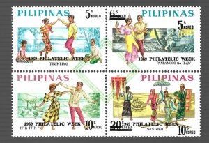 Philippines 1969 - MNH - Block - Scott #1046A *