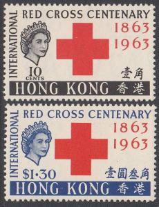 Hong Kong 219-220 MH CV $39.50
