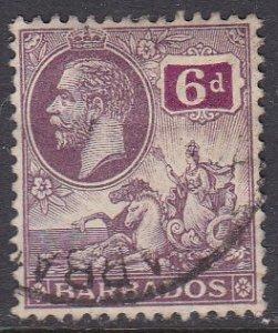 Barbados Sc #123 Used; Mi #92