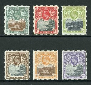 St Helena SG55/60 KEVII  Superb Mint (some look unmounted)