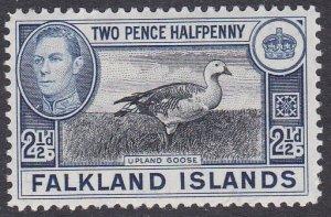 Falkland Islands Sc #87 Mint Hinged; Mi #83