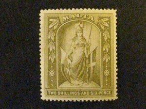 Malta #17 mint hinged  c203 490