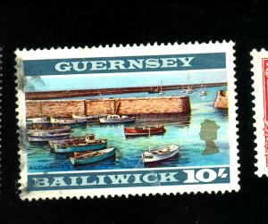 GUernsey #22a Used F-VF Creases Cat $50