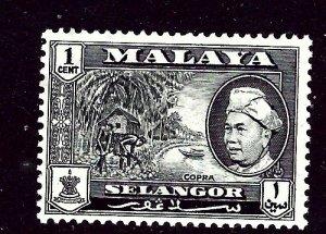 Malaya-Selangor 102 MLH 1957 issue    (ap3408)