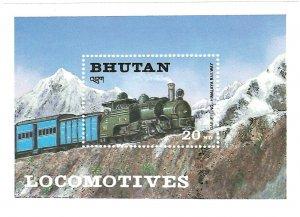 Bhutan  SS   Himalaya   Mint NH VF  PD