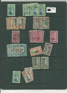 TRADE PRICE STAMPS TRINIDA AND TOBAGO DEALERS STOCK SHEET