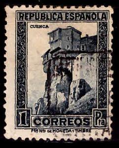 SPAIN Scott 539 Cuenca stamp Used