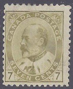Canada Scott #92 Mint hinged F-VF