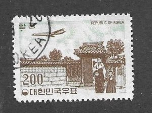 Korea C25 Cancelled 1961 Issue